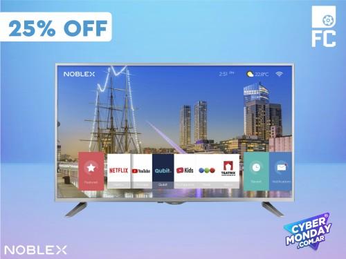 "Smart TV LED HD 32"" DJ32X5000 Noblex"