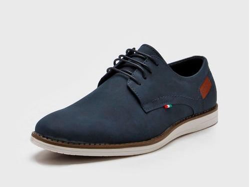 Zapato Azul Massimo Chiesa