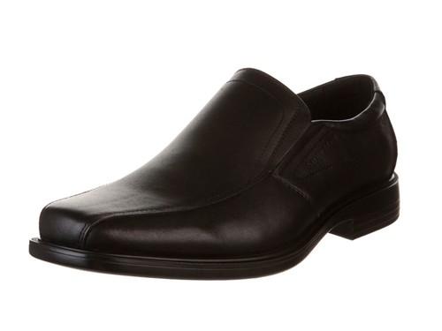 Zapato Negro Stork Man Iago de Cuero