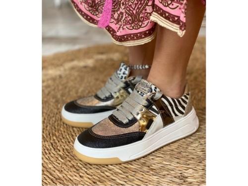 Zapatillas combinadas, Rocas