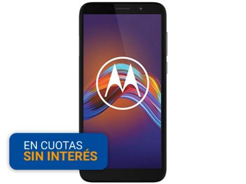 """Celular Libre Motorola E6 Play 5.45"""" 2/32 13MP Negro"""