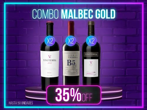 Combo Malbec Gold