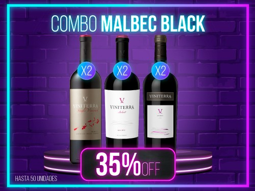 Combo Malbec Black