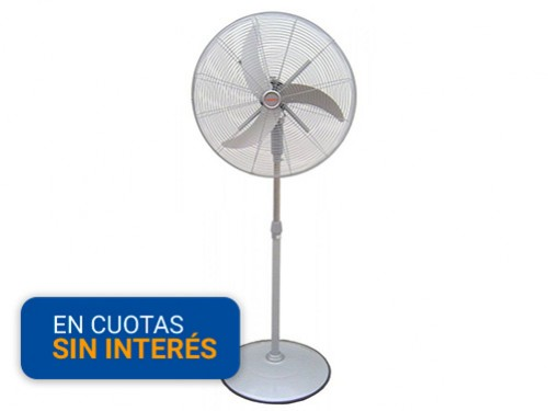 """Ventilador de Pie 25"""" Moddo Metalico VPM-25N"""