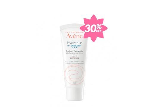 Crema Hidratante con FPS 30 Hydrance UV Riche Avene