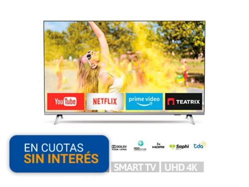 Smart Tv LED 50 Philips 50PUD6654 4K UHD