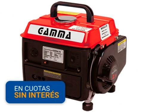 Generador Gamma 950 GE3441 2hp 870w