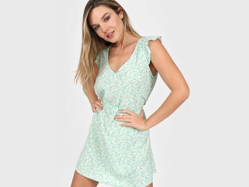 Vestido Verde Vespertine