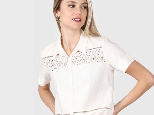 Camisa Natural Etam Sta. Lucia