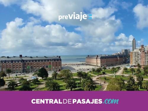 Pasaje en micro de  Buenos Aires a Mar del Plata