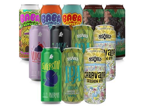 ¡Va como IPA! 12 latas de cerveza artesanal a un precio increíble.