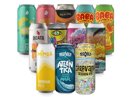Veranito - 12 latas para disfrutar el calor con una cerveza en la mano