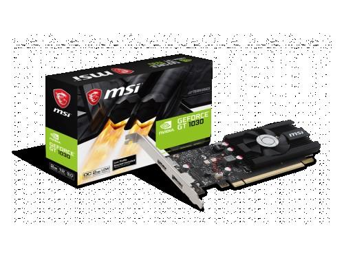 PLACA DE VIDEO LP GF MSI GT 1030 OC 2GB GDDR4 64bit PCIE