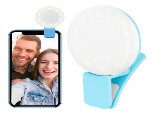 Aro Luz Led Selfies Celular Tablet Pc Linterna Anillo 9 Led