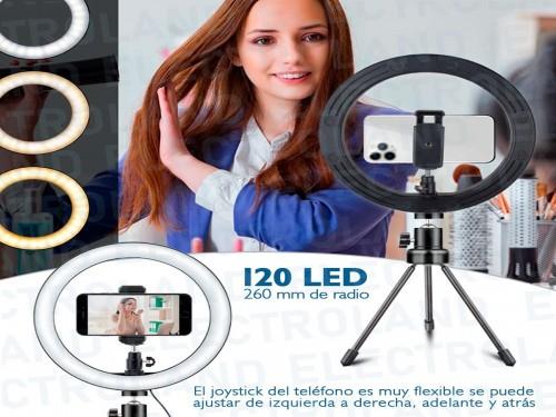 Aro Anillo Selfie Luz Led 26cm Trípode Ring Light Celular