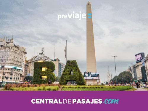 Pasaje en micro de Córdoba a Buenos Aires