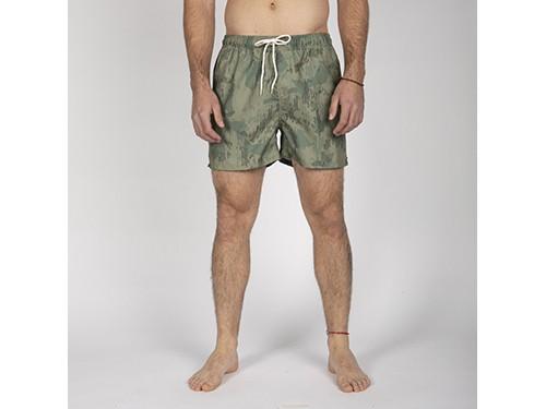 Short de baño de hombre Element Modelo Camp Camo Full Short