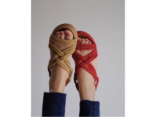 Sandalia de soga anetha