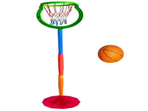 Aro Basquet Niños Juguete + Pelota Altura Regulable Juegosol