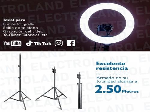 Aro Anillo Selfie Luz Led Trípode 2.50mts Ring Light Celular