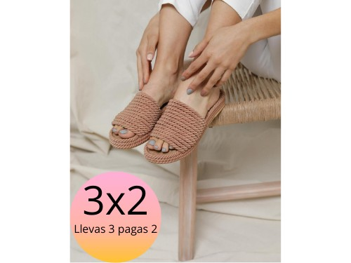 sandalia de soga, egea