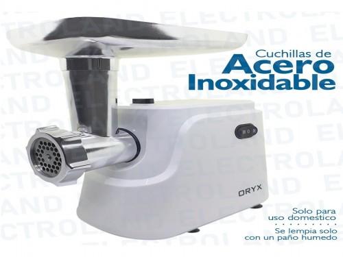 Picadora De Carne Electrica Embutidora Accesorios Inox