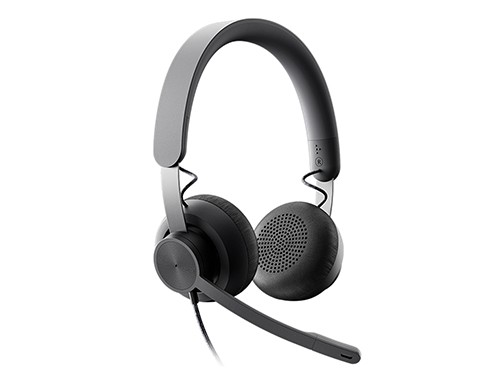 Auriculares Headset Zone Wired Con Microfono Logitech