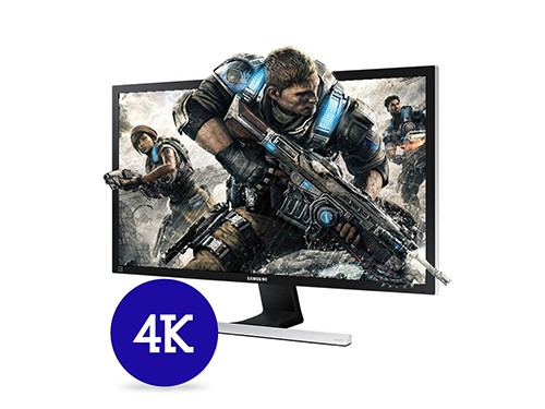 Monitor Gamer 28 4k U28e590d Respuesta Rapida E590 Samsung