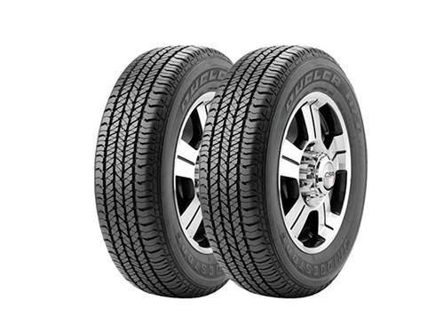 2 Neumáticos Bridgestone Dueler HT 684 II 265/60 R18 110T