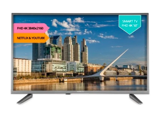Smart Tv Led 50'' Ultra Hd 4k Dj50x6500 Noblex