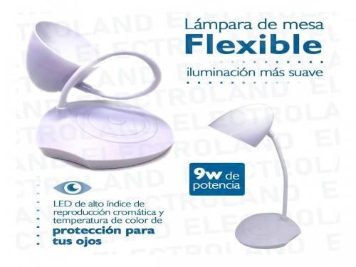 Lampara Velador Led Touch Flexible Recargable Usb Escritorio