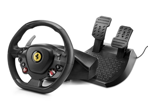 Kit Thrustmaster T80 Racing Wheel Edición Ferrari 488 GTB + pedales