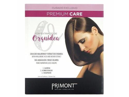 Kit Primont Premium Care Shampoo Acond Baño Con Extracto De Orquidea