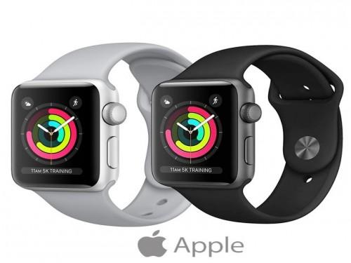 Apple Watch Series 3 GPS 38mm Silver y Space Gray Sellado Gtia Oficial