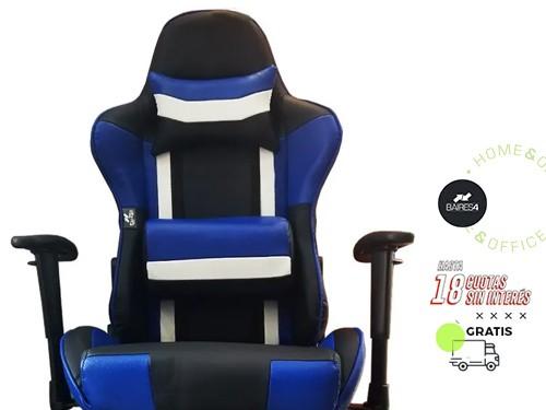 Sillón Gamer Pro Azul BAIRES4
