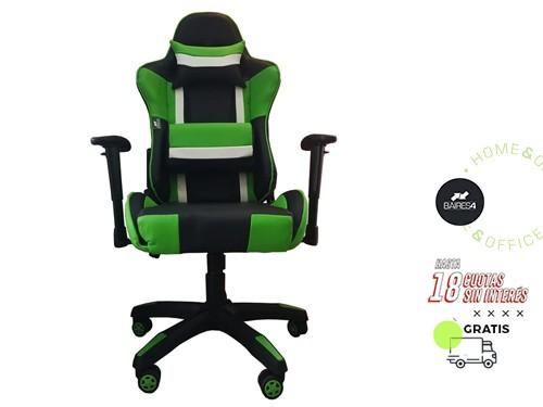Sillón Gamer Pro Verde BAIRES4