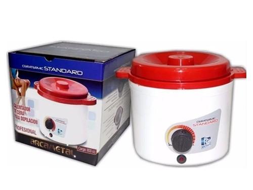 Fundidor de Cera 1 kg Arcametal Standar  Filtro Metal c/regulador