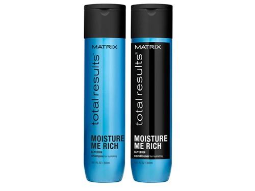 Kit Moisture Me Shampoo + Acondicionador Matrix Total Results
