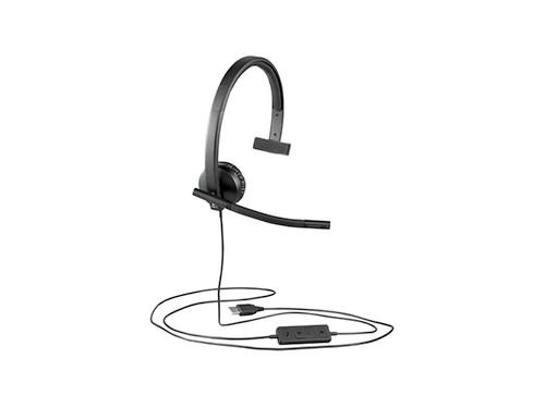 Auriculares Headset Usb Logitech Mono Chat Zoom Meet Skype