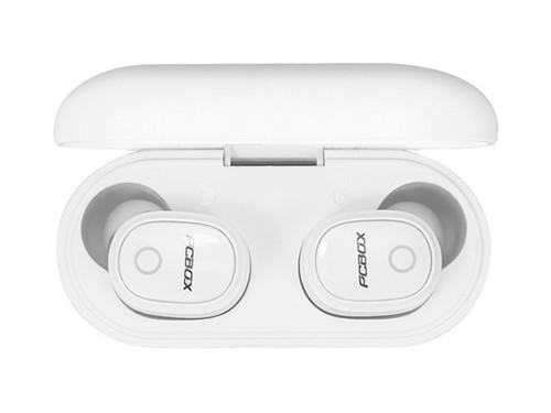 Auricular Bluetooth Blanco Estuche De Carga Musica Llamadas