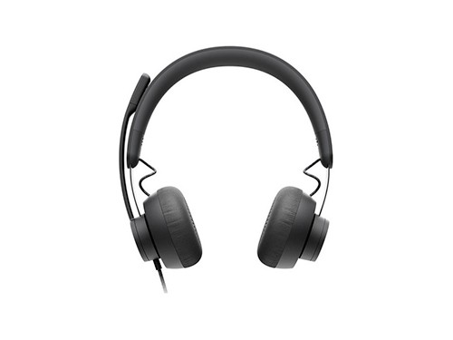 Auriculares Headset Logitech Zone Wired Con Microfono Usb Pc