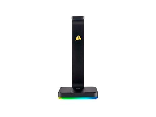 Soporte Para Auriculares Corsair Rgb Gaming Usb Dual 3.1