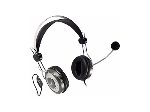 Auriculares Con Microfono Headset Genius Voip Zoom Chat Pc
