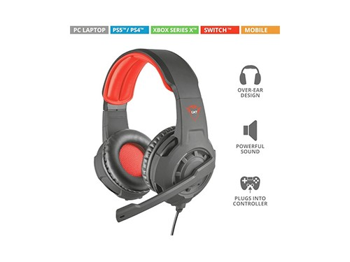 Auricular Gamer Headset Trust Pc Ps4 Xbox Switch Mobile