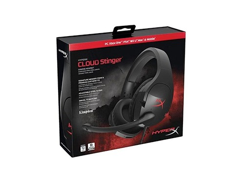 Auriculares Hyperx Cloud Stinger Gaming Negro Pc Ps4