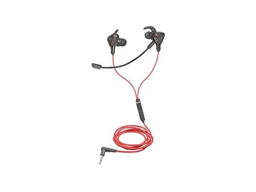 Auriculares Gamer In-ear Trust Cobra Dual Mic + Estuche