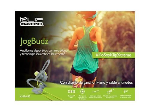 Auriculares Deportivos Jogbudz Manos Libres Bluetooth Mic