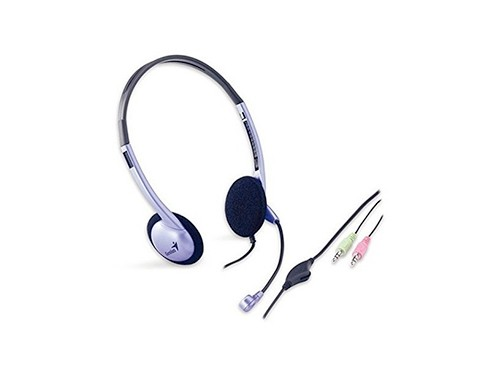 Auriculares Headset Genius Vincha Microfono Pc Zoom Meet