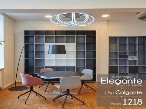 Lampara Diseño Elegante Colgante Led 200w Calida / Fria Led