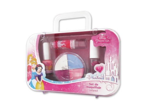 Set De Maquillajes Princesas Disney